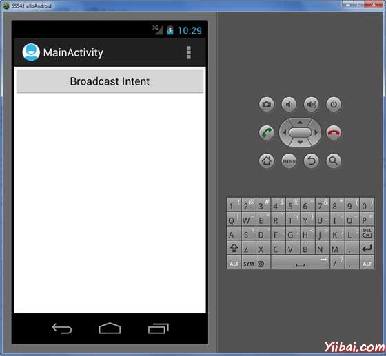 Android Broadcast Demo