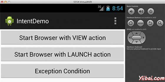 Android Custom Activity