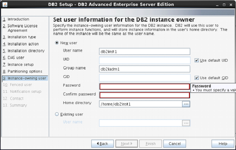 DB2 Partition